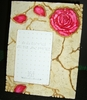"Rose Picture Frame 3-1/2"" x 5"
