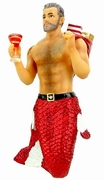 Santa Daddy II Merman Ornament