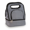 Savoy Lunch Bag Houndstooth