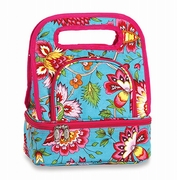 Savoy Lunch Bag  Madeline Turquoise