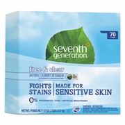 Seventh Generation Natural Laundry Detergent, Free and Clear, 112oz Box