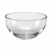 "Simon Collection  Salad Bowl 9.75"" Dia Lead-Free Optic Crystal"