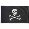 Skull and Crossbones Flag 5' x 3'