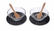 Small Bites 6 Piece Tapas Serving Set