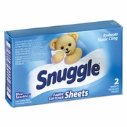 Snuggle® Fabric Softner Sheets (coin vending) 2sh/bx  100bx/case