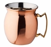 Solid Copper Flared Moscow Mule Mug 16oz
