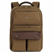 """Solo Executive Laptop Backpack, 15.6"""", 11-1/2 x 4-1/4 x 18-1/8"""