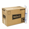 Solo White Paper Water Cups, 4oz, 100/Bag, 50 Bags/Carton