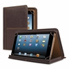 """Solo Premiere Leather Universal Tablet Case, Fits Tablets 8.5"""" up to 11"""", Espresso"""