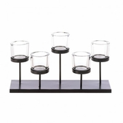 Staggered Candleholder  (holds 5 candles)