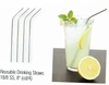 Stainless Steel Straws  4/set