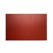 "Stitched  Red Leather Desk Pad 18"" x 28"""