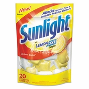 Sunlight® Auto Dish Powder Pouches  1.5oz  20  pouches/bag