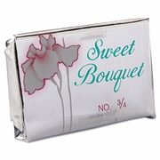 Sweet Bouquet Face and Body Soap Foil Wrapped, Floral, .75oz Bar, 1000/Carton