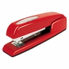 Swingline 747 Business Full Strip Desk Stapler, 20-Sheet Capacity, Rio Red