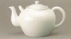 HIC Teapot Large Porcelain 75oz.  White