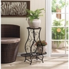 Triple Plant Stand Hourglass Shape   FREE SHIPPING