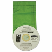 Vacuum Bags, Disposable, For Rubbermaid Commercial Backpack Vacuums, 10/Pack