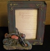 Vintage Motorcycle Picture Frame 4 x 6