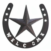 "Western Star ""Welcome"" Wall Hanging"