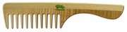 Widu Italy Wide Tooth Wood Comb with Handle