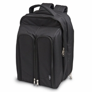 Wine Picnic for Two Backpack  Black