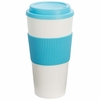 Wyndham House� 24oz Tumbler with Light Blue Wrap and Lid DOZEN