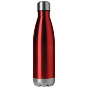 X-PAC™ 16.9oz Double Wall Stainless Steel Vacuum Bottle in Red