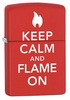 Zippo� Ligher  Keep Calm and Flame On