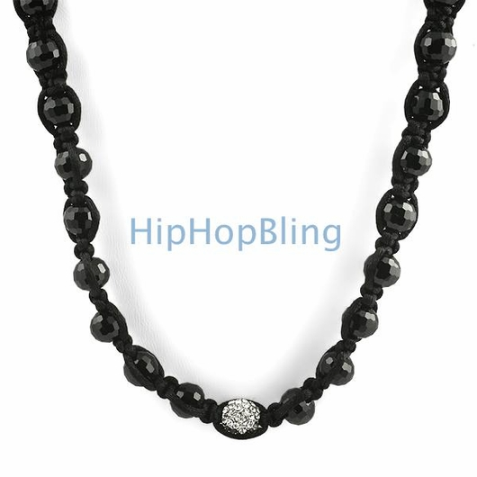 1 Bling Bling Disco Ball Necklace