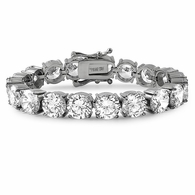 10MM CZ 316L Iced Out Bling Bracelet Never Fade