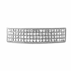 4 Row Bling Bling Grillz Rhodium Top