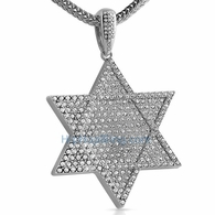 6 Point Star Bling Bling Pendant