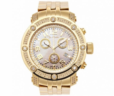 Apollo Joe Rodeo Diamond Watch 1.70ct Gold Micron