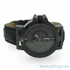 Black Swag Hip Hop Diamond Watch Super Techno