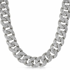 Bling Bling Cuban Chain 22MM CZ Diamond