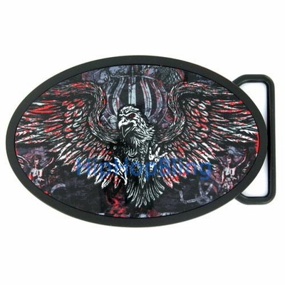 Bloody Eagle Fly Fresh Tattoo Belt Buckle TBU37