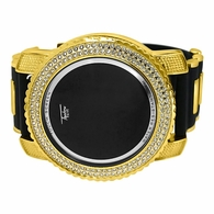 Chunky Gold Bling Bling LED Touch Screen Watch