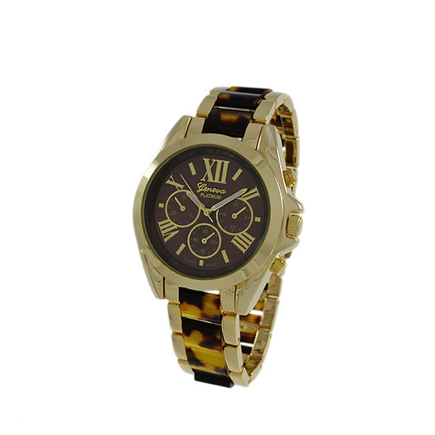 classic turtle shell style gold designer
