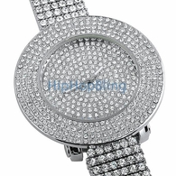 Custom Totally Iced Out Bling Bling Watch