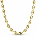 Designer Link Gold Plated Chain