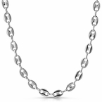 Designer Link Silver Plated Chain