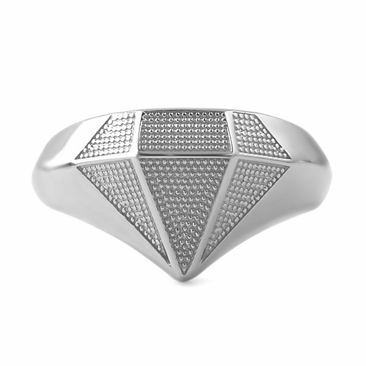 Diamond .925 Sterling Silver Custom Ring