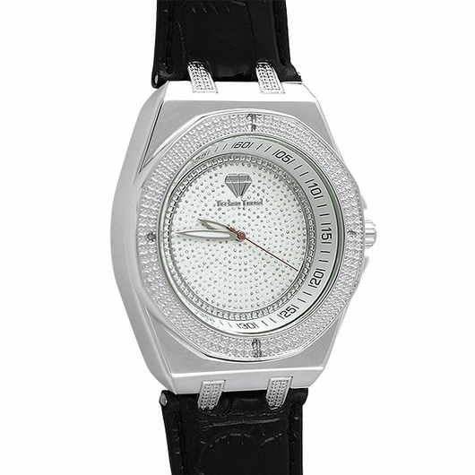 Genuine Diamond hi Tech Style Watch