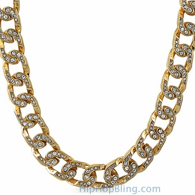 Gold Bling Bling Cuban Chain