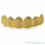 Gold Grillz Pyramids Custom Teeth