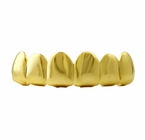 Gold Grillz Top Teeth