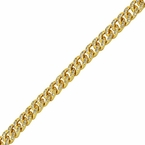 Gold Miami Cuban CZ 6MM Bracelet