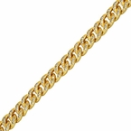 Gold Miami Cuban CZ Bracelet 8MM
