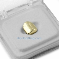 Gold Single Tooth Cap Grillz